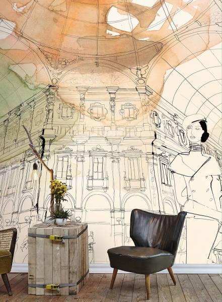 Shopping a Milano - wallpaper