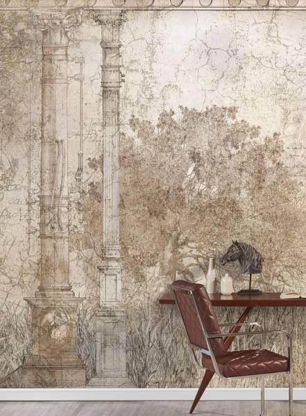Mechanical Garden - wallpaper