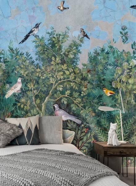 Viridarium - wallpaper