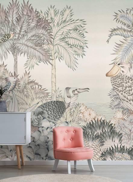 Au  fil des feuilles - wallpaper