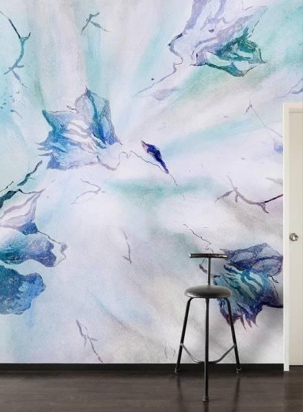 Blake  flowers - wallpaper