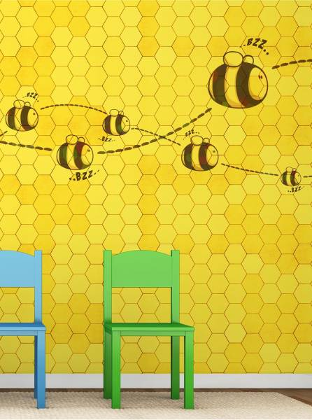 Honey to the bee - wallpaper