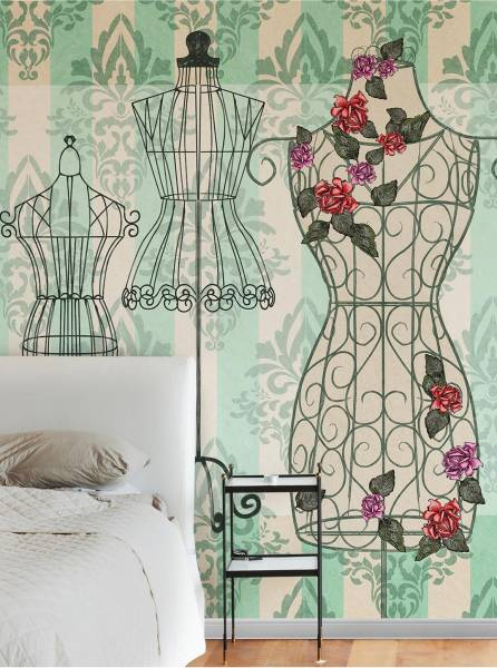 Nostalgic mannequin - wallpaper