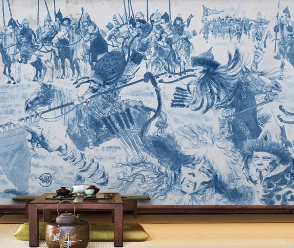 Blue china - wallpaper
