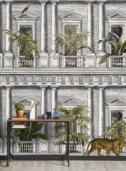 Urban jungle - wallpaper