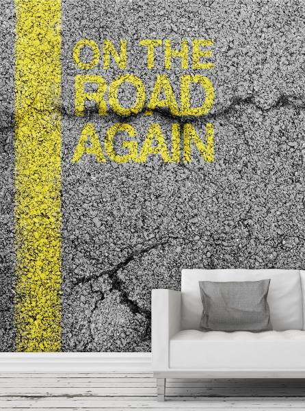 On the road again - wallpaper