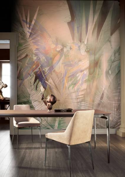 Modern jungle- wallpaper