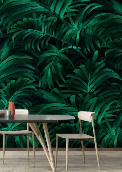 Palm plethora - wallpaper