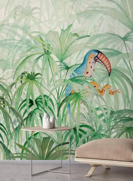 Touke-touke jungle - wallpaper