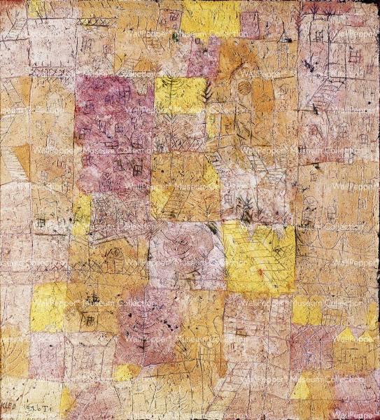 wallpaper - Idillio di città giardiniera