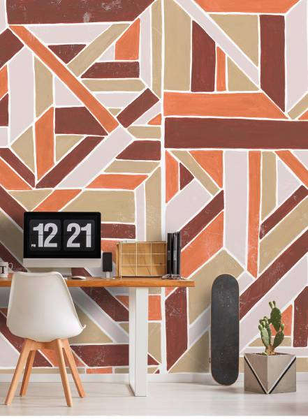 Delaunay wall - wallpaper