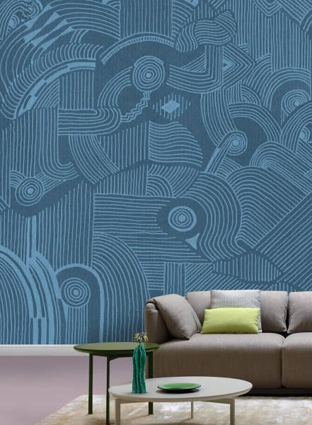 Linee danzanti - wallpaper