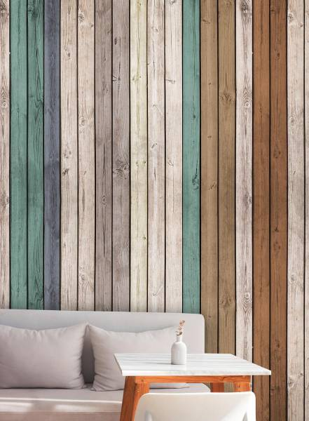 Vertical wood - wallpaper