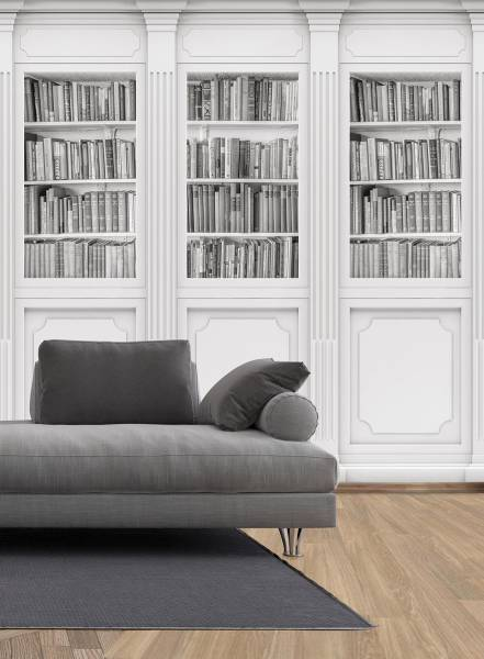 Bookcase - wallpaper