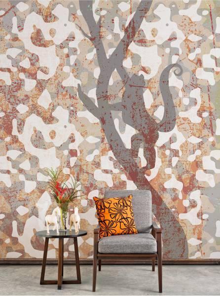 Monkey camouflage - wallpaper