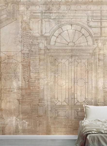 Mechanical Colums - wallpaper