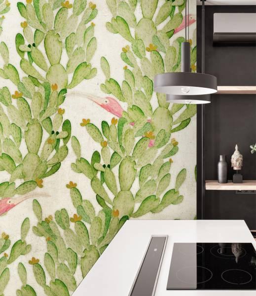 Cactus dream- wallpaper