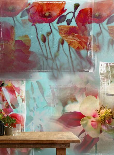 Lanterne Fiorite - wallpaper