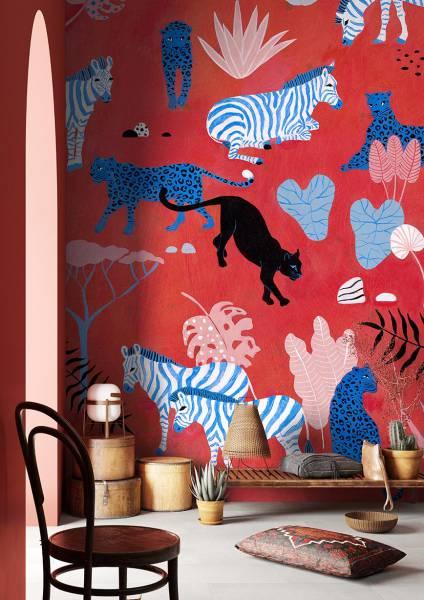 wallpaper - Rosso savana