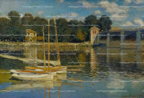 wallpaper - Il ponte d'Argenteuil
