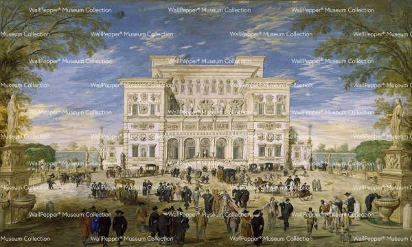 wallpaper - Prospetto di Villa Borghese