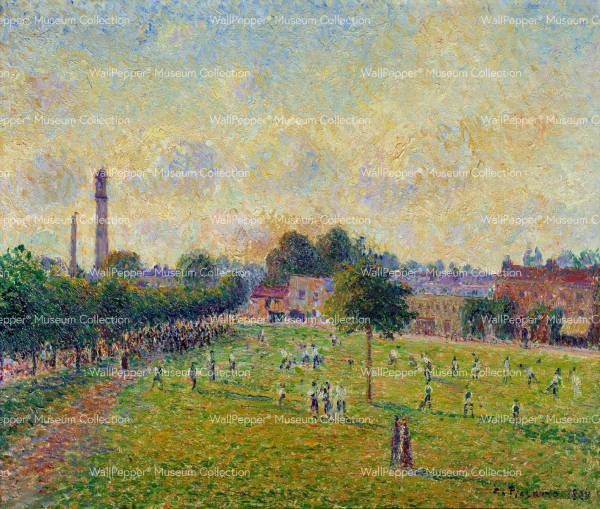 wallpaper - Vue de Kew's green a Londres en 1892