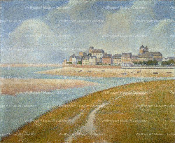 wallpaper - Vue de Le Crotoy