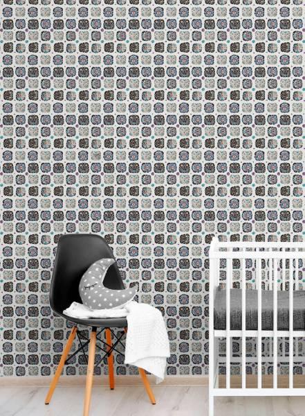 Suzani dot - wallpaper