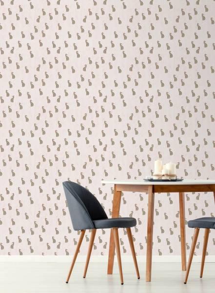Pastel hound - wallpaper