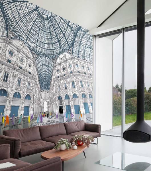 Galleria - wallpaper
