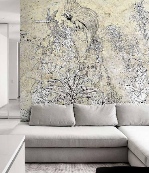 wallpaper - Ink Garden