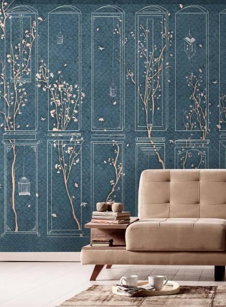 Gioco di ginkgo - wallpaper