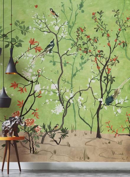La selva fiorita - wallpaper