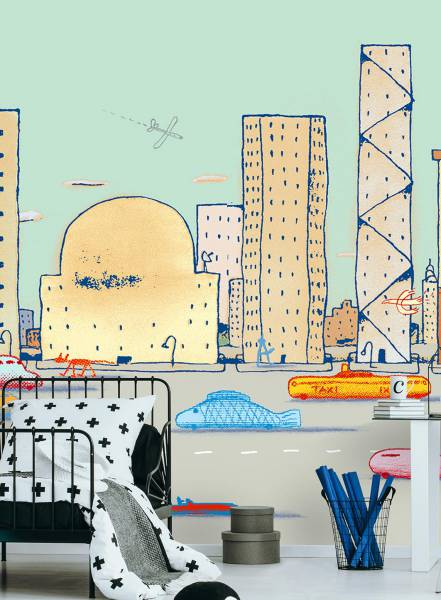 Downtown - wallpaper