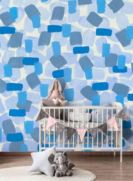 Symphony blue - wallpaper
