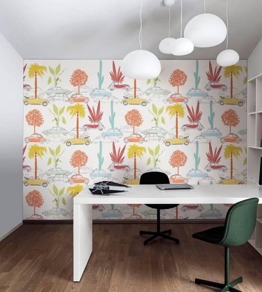 wallpaper - Tree machine