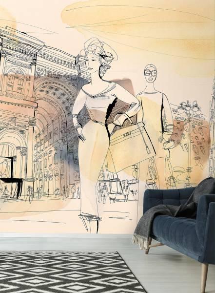 Fashion in Milan - wallpaper