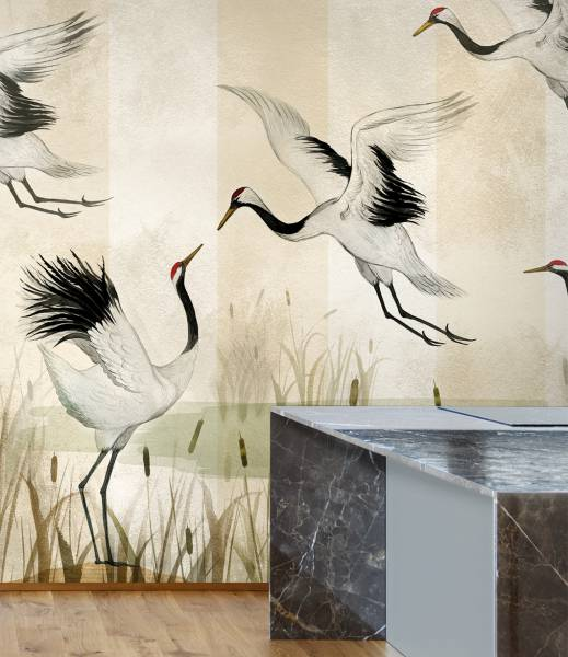 Bisous- wallpaper