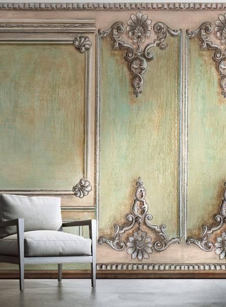 Boiserie a conchiglia - wallpaper