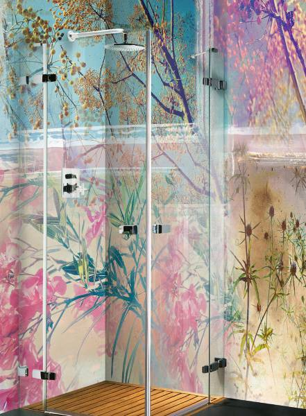 Fronde di pastelli colorati - wallpaper