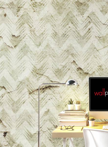 Geometric palm - wallpaper