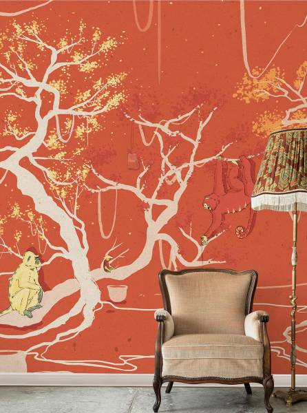 Il giardino delle bertucce - wallpaper