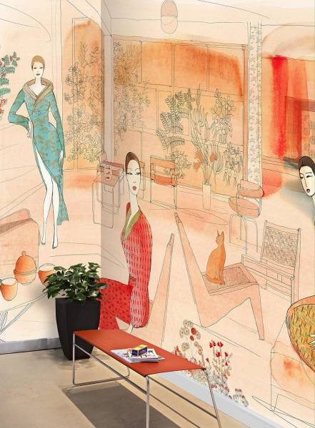 Interior and fashion in Japan - wallpaper