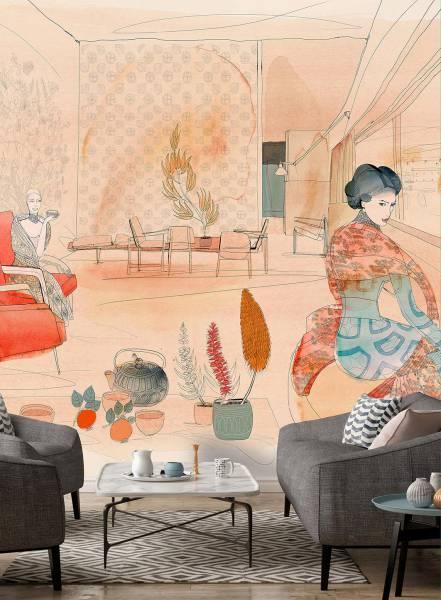 Japan fashion style - wallpaper
