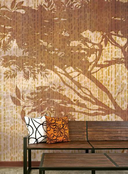 Leopard tree - wallpaper