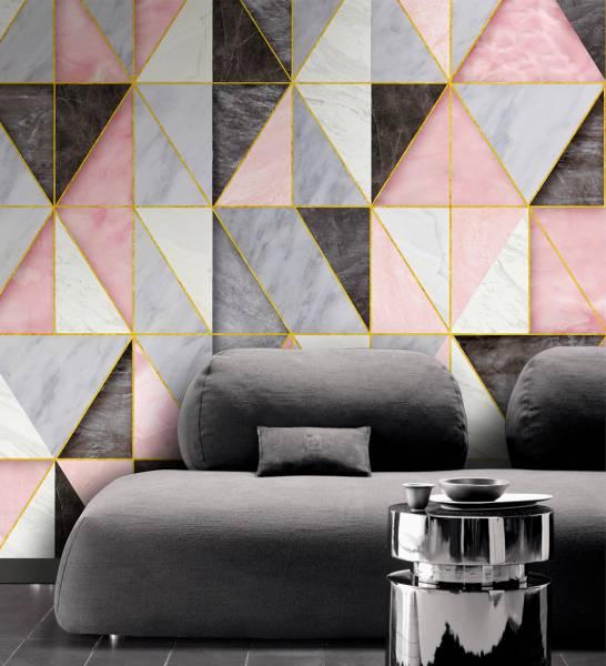 Rhombus- wallpaper