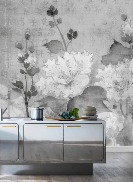 Velvet grey - wallpaper