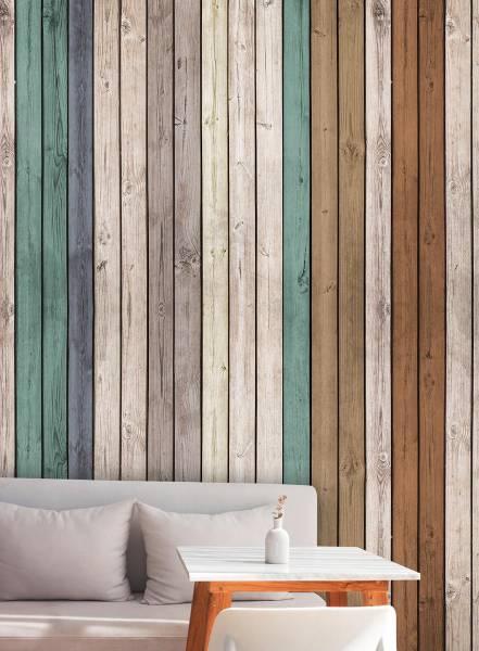 Vertical wood - wallpaper