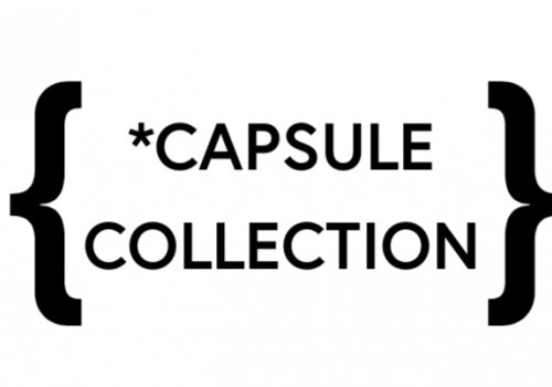 CAPSULE COLLECTION ONLINE!