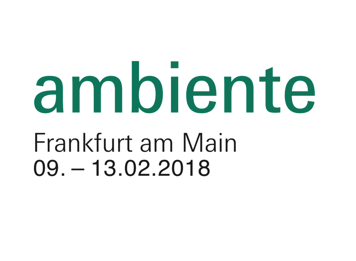 SAVE THE DATE - AMBIENTE 2018